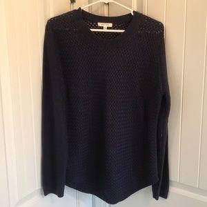 Sweaters - August Mist Size Medium Patchwork Knit Sweater